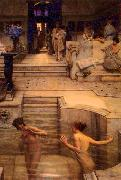A Favourite Custom Sir Lawrence Alma-Tadema,OM.RA,RWS